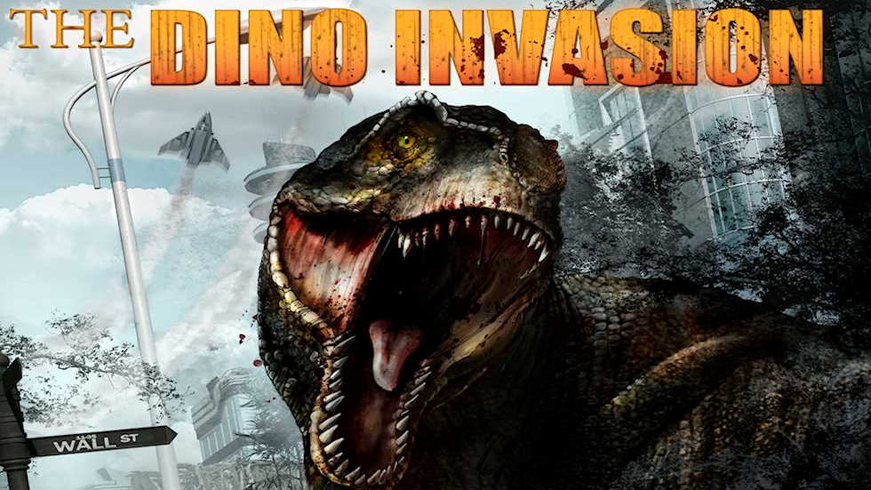 5D Cinema movies: The Dino Invasion. Age:12+.
