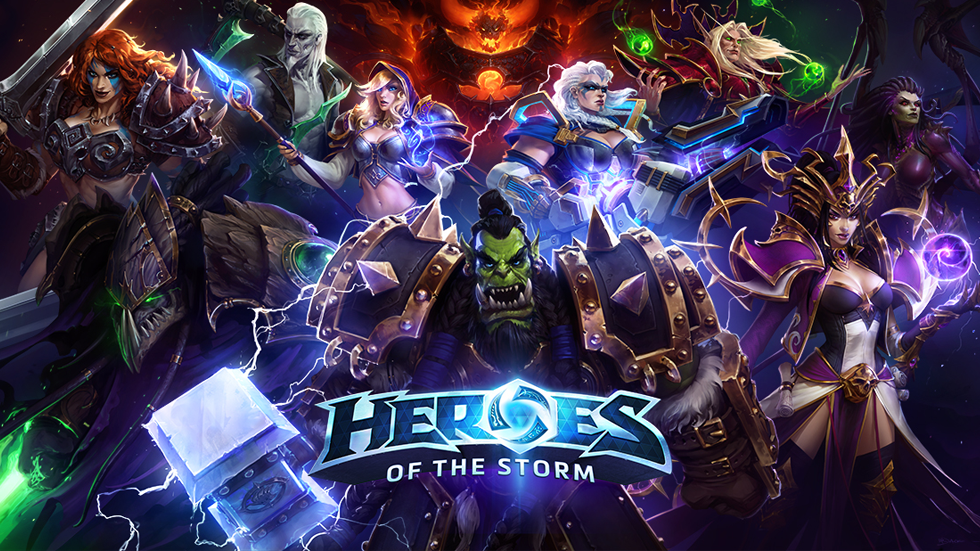 PC Gaming : Heroes of the storm