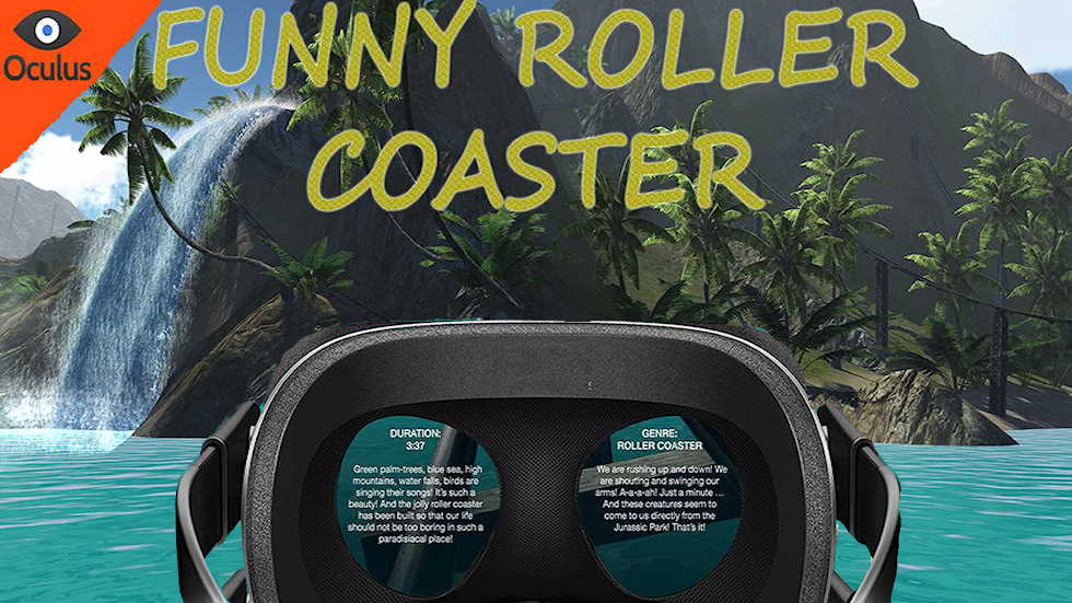 VR Sphere movie: Funny coaster.