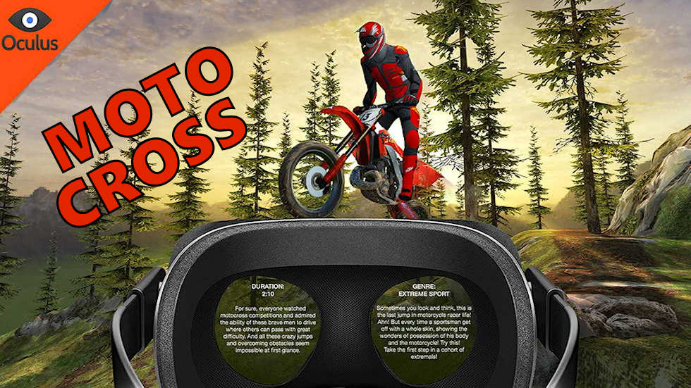 VR Ride movie: Motocross.