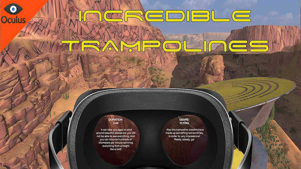 VR Ride movie: Incredible Trampolines