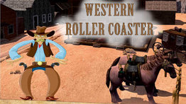 5D Cinema movies: Western Roller Coaster. Age:5+.