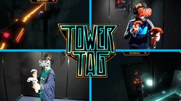 VR Arena game: Tower Tag