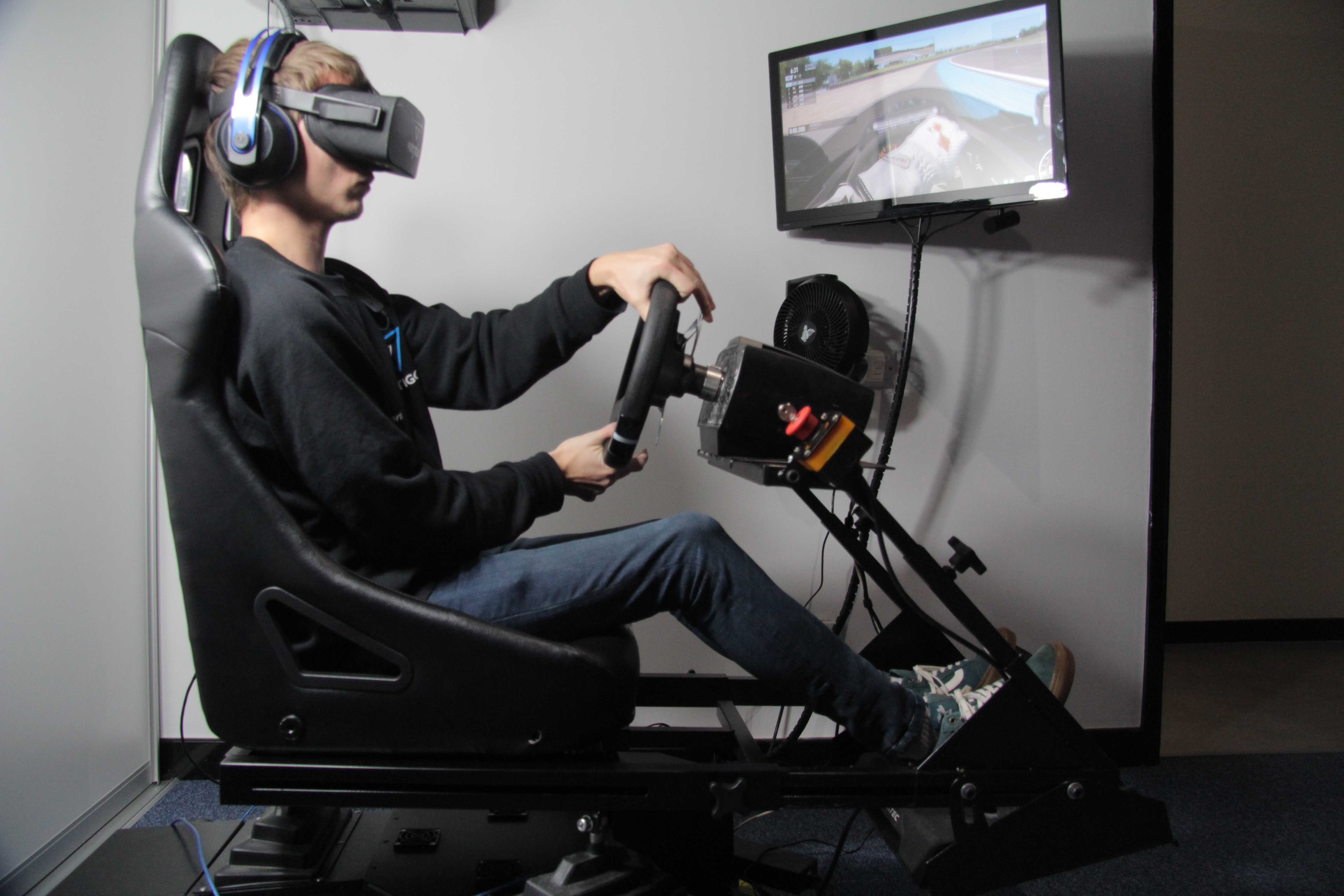 VR Car Racing Simulator
