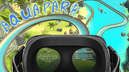 VR Ride movie: Aquapark.