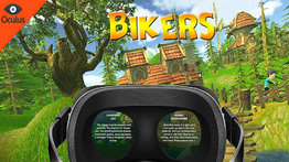 VR Sphere movie: Bikers.
