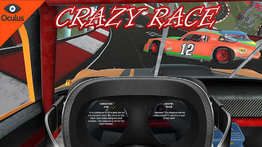 VR Ride movie: Crazy Race.