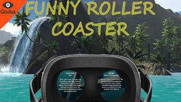 VR Ride movie: Funny coaster.