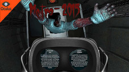 VR Ride movie: Metro 2015.