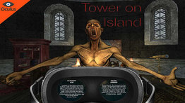 VR Sphere movie: Tower on Island.